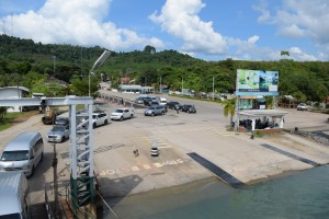 Ferry pier to Koh Chang